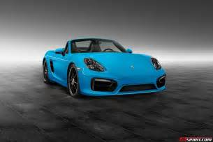 Porsche Blue Official Riviera Blue Porsche Boxster S By Porsche