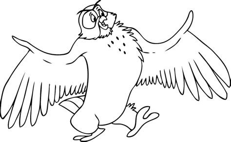 owl wings coloring page coloring owl with wings wide open picture