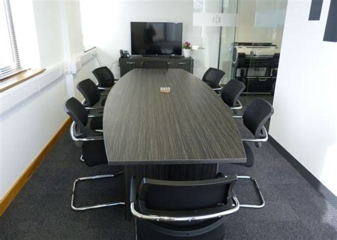Office Boardroom Tables Boardroom Table Hargreaves Contracting Bevlan Office Interiors