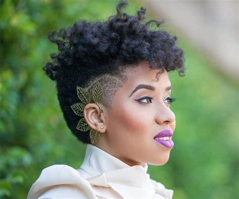 tapered fro for black women 25 tapered fro inspirations for naturals of every length