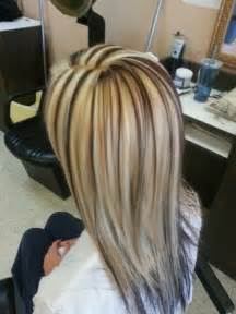 hair with highlights and lowlights white highlights brown lowlights hair colors ideas