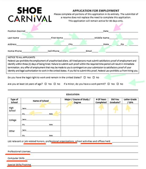 shoe carnival careers shoe carnival application 28 images free printable