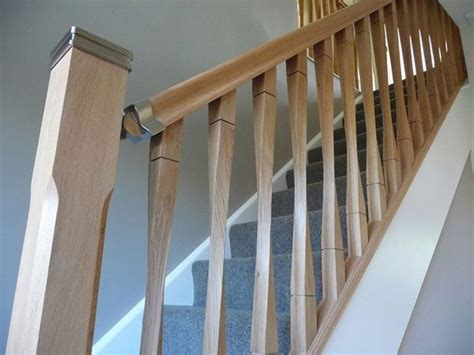 spindle banister 16 best images about oak stair parts handrails caps