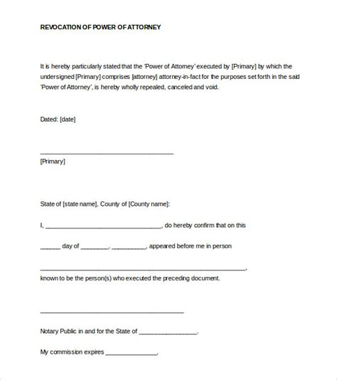 notarized document template 32 notarized letter templates pdf doc free premium