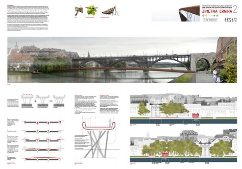 design with gc competition the happy pontist maribor footbridge competition winner