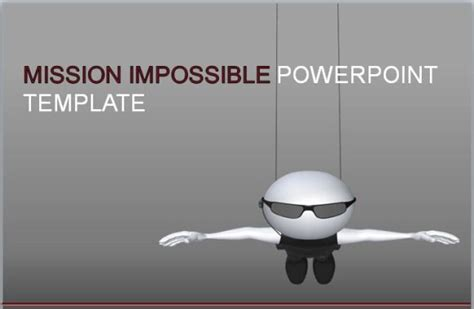 Mission Impossible Animated Powerpoint Template Adds On For Your Project Presentations Pinterest Mission Impossible After Effects Template