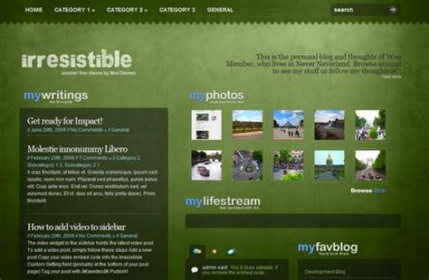 themes wordpress green 10 free green wordpress themes my blog