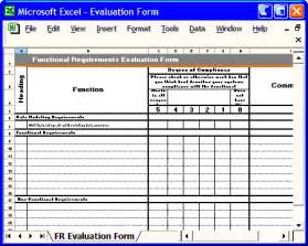 functional requirements specification ms word amp excel