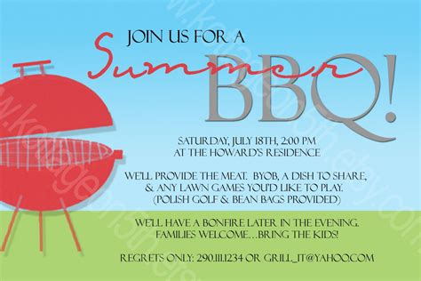17 Summer Bbq Invitation Word Template Images Free Printable Bbq Party Invitation Template Summer Bbq Invite Template