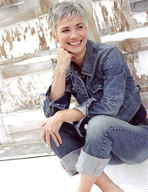 chic haircuts for gray hair 25 chic short hairstyles for older women short