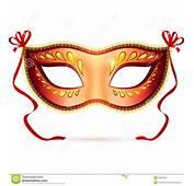 Vector Venitian Carnaval Masker Stock Fotografie  Beeld