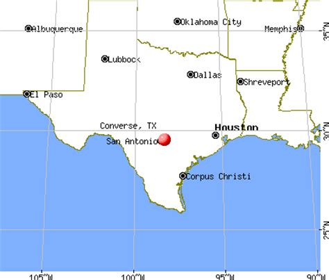 converse texas map converse texas tx profile population maps real estate averages homes statistics