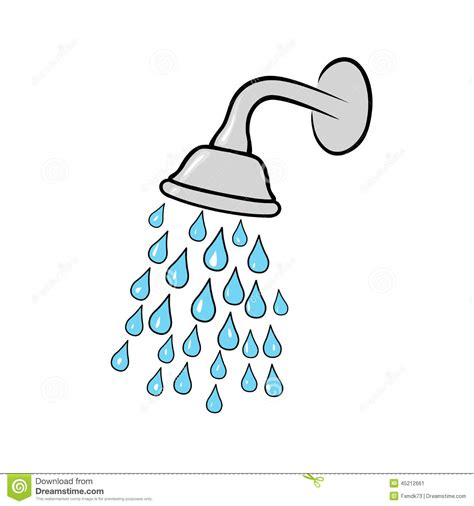Shower Clipart by Shower Stock Vector Image 45212661