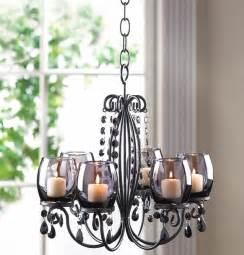 Hanging Candelabra Chandelier Black Hanging Crystal Chandelier Candelabra Candle Holder