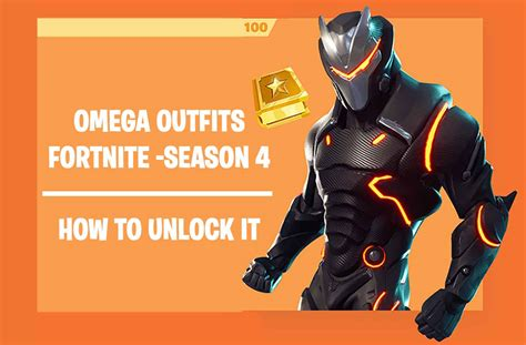 fortnite omega fortnite season 4 how to get the omega and unlock