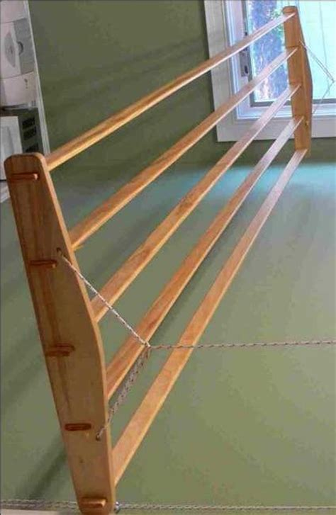 Clothes Drying Rack Plans Free by Wooden Clothes Dryer Rack Plans Woodworking Projects Plans