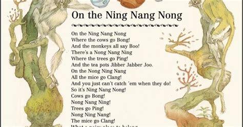 on the ning nang nong poem by spike milligan poem hunter eric kincaid from http 2 bp blogspot com t gwwv48jcq