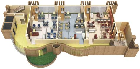 Layout Floor Plan montreal business center inc developers pune