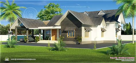 modern house design bungalow type modern house