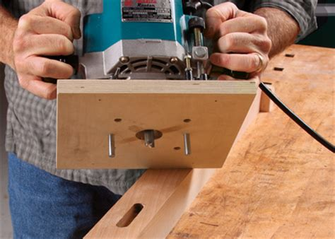 centering mortising base   router finewoodworking