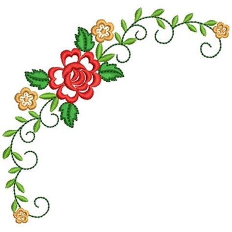 Blouse Legia Ribbon floral corner embroidery design zainab necessary floral embroidery and
