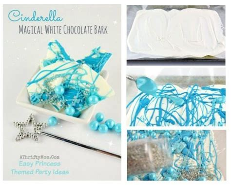 Cinderella Themed Party Recipe Cinderella Magical White