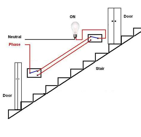 circuit diagram for staircase wiring wiring diagram with