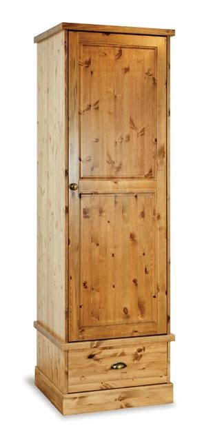 Pine Single Wardrobes by Solid Wood Wardrobes Wooden Bedroom Wardrobes