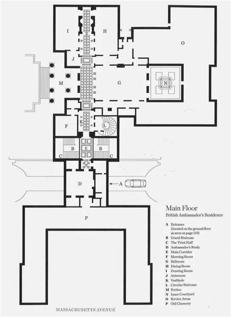 embassy floor plan british washington and edwin lutyens on pinterest