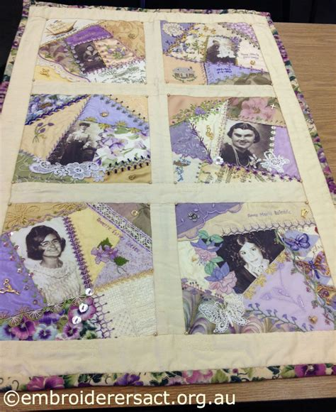 History Of Patchwork Quilts - photo quilt embroiderers guild act