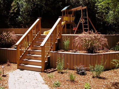 retaining walls  composite deck facing complsite