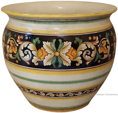 Italian Ceramic Vase by Italian Ceramic Vase Planters