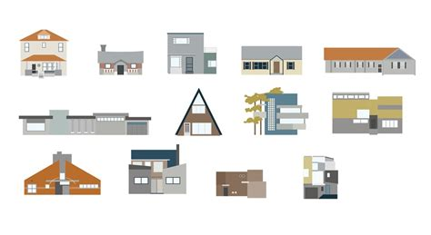 architectural styles how many modern architectural styles can you identify