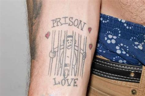 prisoner of love tattoo steve o s 23 tattoos their meanings guru