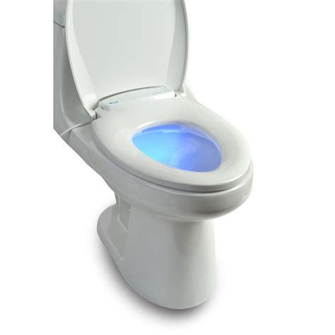 brondell lumawarm heated nightlight toilet seat toilet