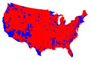 map of us counties by political election maps