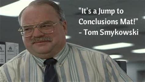Jump To Conclusions Mat Quote by No Reason To Panic Govt Warns Not To Quot Jump To