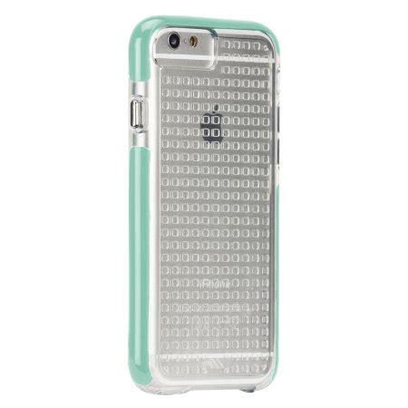 Casemate Iphone 6 Tough Air Clear Mint mate tough air iphone 6 clear pool blue mobilezap australia