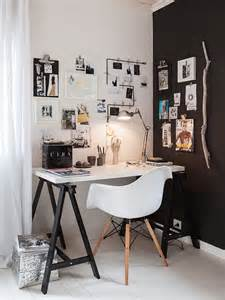 sunday decor black and white home office inspiration m