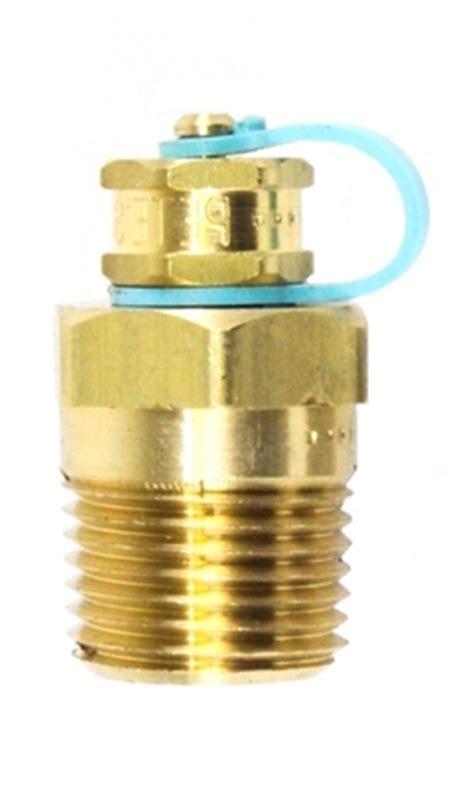 "temperature pressure pete's plug 1/2"" mnpt x 1.5""l, neoprene"