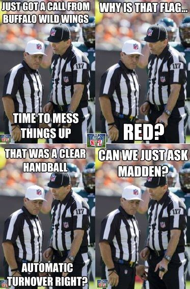 Nfl Ref Meme - funny nfl replacement ref memes