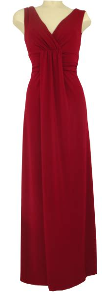 swing marke langes kleid der marke swing in farbe uni braun rot mode