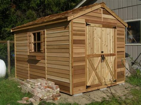 ottawa sheds cedar shed kits