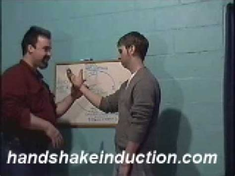 pattern interrupt handshake induction hypnosis handshake induction instant trance milton ericson style