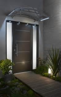 porte contemporaine 3 233 toiles aluminium ta option led