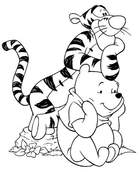 Characters Coloring Pages disney characters coloring pages