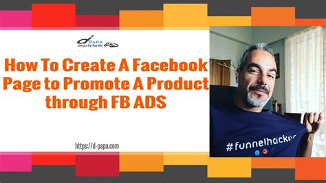 fb ads gratis how to create a facebook page to promote a product through