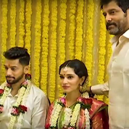 chiyaan vikram's daughter akshita vikram wedding
