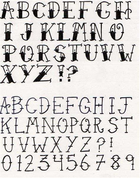 different fonts for tattoos afbeeldingsresultaat voor lettering my shining