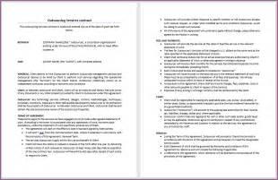 contract sample designproposalexample com